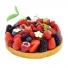 Red fruits pie 4 servings, image n° 1