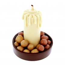 Chocolate candlestick