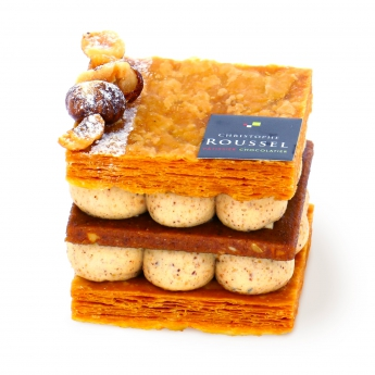 Millefeuille Praliné individuel