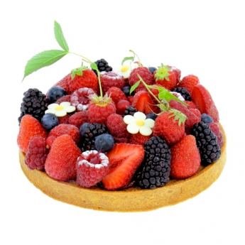 Red fruits pie 4 servings