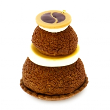 Religieuse  filled with coffee
