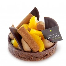 Tarte Chocolat Orange individuelle